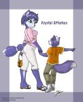 Krystal and Markus by BlackBy