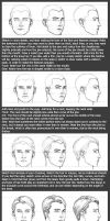 Basic Head Tutorial: Male by timflanagan