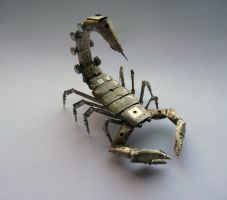 A Mechanical Scorpion (view 3) by AMechanicalMind