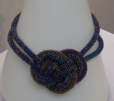 Chinese knot necklace by mityka
