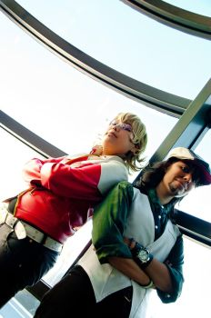 Tiger and Bunny 2 - Cosplay by Boudicca-Keltoi