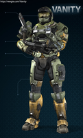 Halo Reach Spartan -2nd by twisteddragon2