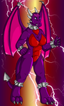 angry Cynder by QuickTron