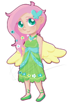 Fluttershy by MC--ClapYoHandz