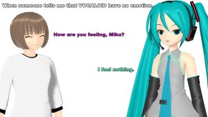 MMD - Vocaloid have no emotions by Ayumichigolove