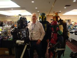 Boba Fett and the Firestorm by regnasis