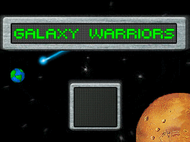 Galaxy Warriors Title Screen by Giluc