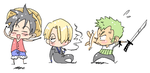 One Piece - Chibis by thegreatlimechan
