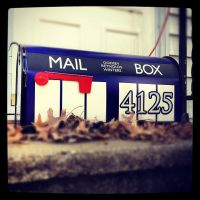 Time and Relative Mail in Space by DeadGreySnow