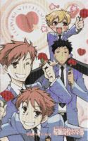Group Ouran Mosiac by smallrinilady