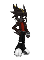 New OC Zack by D3-shadow-wolf