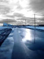 The Blue Road by Tadoke