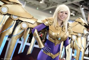 LoL: Aether Wing Kayle by XenPhotos