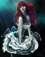 bride under water by NoNa008