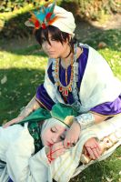 Relax, this is our time - Magi: TLoM by NamiWalker
