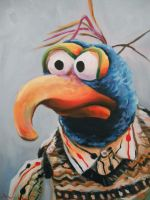 Gonzo by HillaryWhiteRabbit