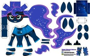 Gamer Luna (Joinys 001B) by ELJOEYDESIGNS
