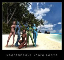 Spontaneous Shore Leave by Kaernen