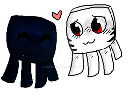 Ghast Cuties By Darling Demon by SuperMonpo