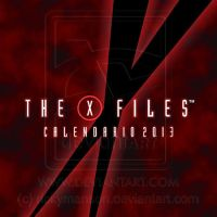 X-Files Spiral Binded Wall Calendar design - Cover by rickymanson