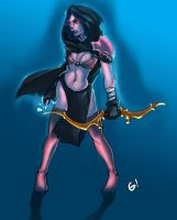 DOTA- drow ranger by braindead08
