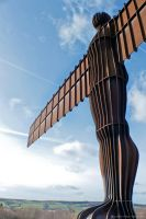 Angel of the North iii by Little-Miss-Splendid