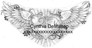 heart with wings design by cynthiardematteo