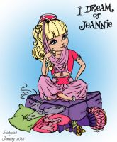 I Dream Of Jeannie by slinkysis3