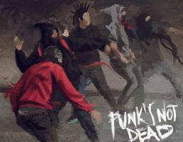 punk s not dead. by keronetex