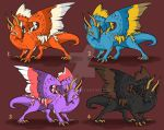 Adoptable Dragons 2 [Open] by Metalnico