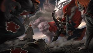 Thor vs Pain by earache-J