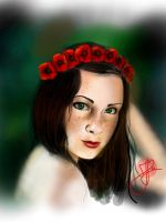 Red and Black (23) by Hedwigs-art