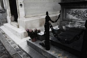Montmartre Cemetery I by Aeffa