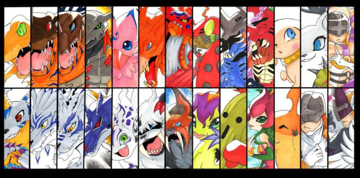 Digimon Evolutions by Yoite7