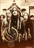 Band Poster: Opeth by elcrazy
