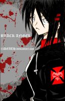 BLACK ANGEL_COLORING by 15DEATH