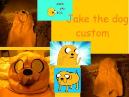 Jake The Dog Custom by LoraxFan
