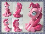 Pinkie Pie Sculpture by CadmiumCrab