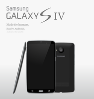 Samsung Galaxy S IV Concept by TheTechnikStudios