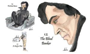Drawing Per Episode-Sherlock BBC Season 1 by hatoola13
