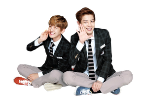 [Render] ChanBaek EXO by tombiheo