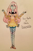 Scapolite Fusion by Winged-CatGirl-Kin