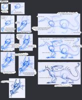 Notes on Disney Dragons: Maleficent by Expression