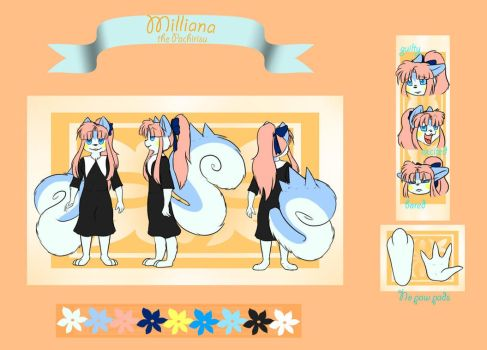 Milly - Reference Sheet by Seraphon