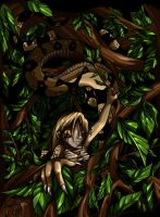 Snake in the Trees - Coloured by yamakarasu
