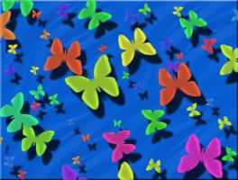 Love is like a butterfly by Creativeness