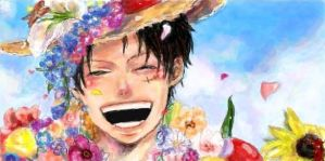 One Piece_Luffy 5 by AnkoKatoma