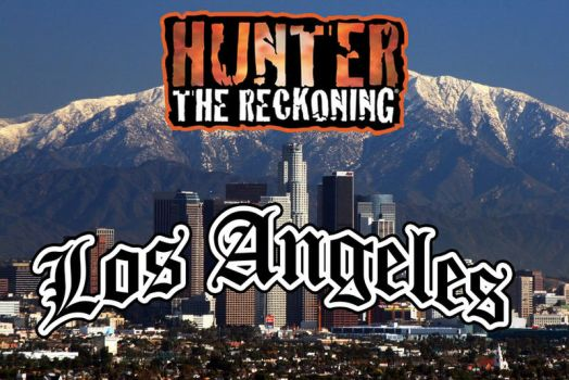 'Hunter' Los Angeles logo by lexnoctis