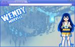 Fairy Tail Chrome Theme: Wendy Marvell by yohohotralala