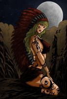 Apache Girl by HrnArt